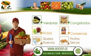 www.accco.cl  frutas ,verduras e insumos alimenticios a domicilio