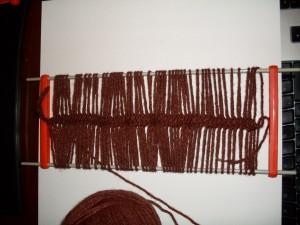 curso de tejido en telar artesanal lana www.aprendetelar.com