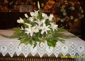 mauricio rojas, arreglos florales, ramos novia, centros de mesa