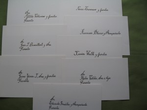 caligrafia abc, sobres, invitaciones a matrimonios, diplomas