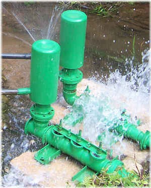 bombas de ariete hidraulicas