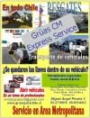 Transporte nacional e internacional de vehículos, Apertura  vehículos