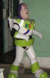 Animación con Buzz Lightyear