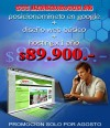 Posicionamiento en Google + Sitio + Hosting $89.900.-