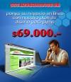 Diseño WEB Economico $69.000.-