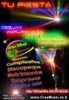 DJ a domicilio ( AMPLIFIACCION , ILUMINACION , PROYECTOR )