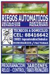 SERVICIO DE RIEGOS AUTOMATICOS.