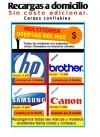 RECARGAS DE TONER impresoras laser  XEROX 3116-3117-3122