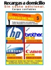 recargas de toner BROTHER HL2040,2140,7040