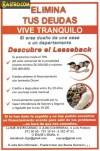 BORRAMOS DICOM, Créditos LEASEBACK, urgente dinero. GARANTIA HIPOTECARIA.