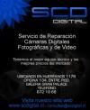 servicio y asistencia tecnica en reparacion de camaras digitales