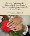 fotografia y vídeo (bodas, eventos, cumpleaños)