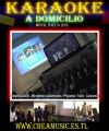 Karaoke A DOMICILIO - fiestas A DOMICILIO