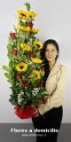 Despacho de flores y arreglos florales a domicilio.