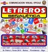 LETREROS, SEÑALETICA INDUSTRIAL PREVENCION DE RIESGOS, LIENZOS, PENDONES,