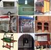 fabrica estructuras metálicas en chapa y perfilaría,  soldada o remachada