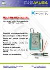 Multimetro digital 100A