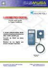 Luxómetro digital